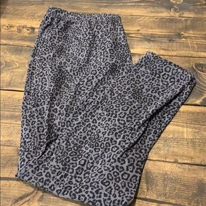 Faded Glory Leopard Print Leggings